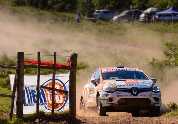 En un Rally del Atlántico parejo, mandan Gardiol – Varela en Renault Clio Cup