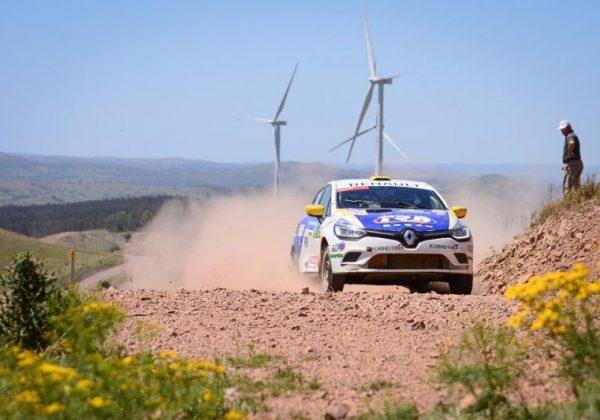 Ensslin – Villete ganaron el Rally del Atlántico y son los campeones de Renault Clio Cup Uruguay