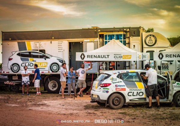 Finalizados los dos días de pruebas con los pilotos interesados en incorporarse a la Renault Clio Cup