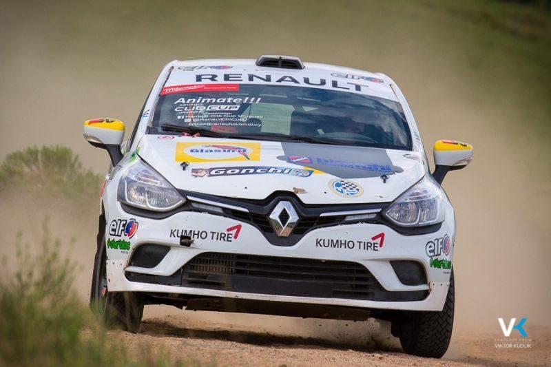 """""""Vamos al Rally de San José con las modificaciones 2018 en el Renault Clio IV tripulado por Nicolás Corallo y Rodrigo Arbiza"""""""